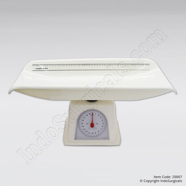 Baby-weighing scales pan type