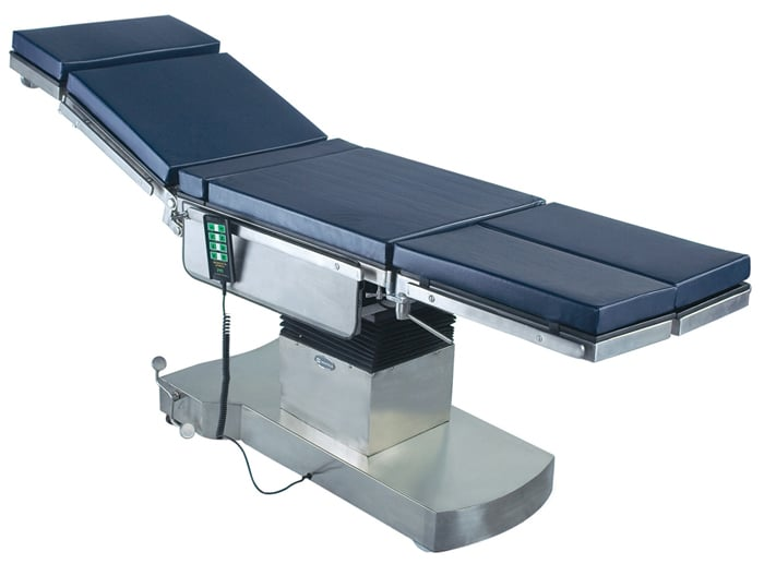 Electromatic operation table